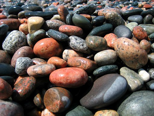 check out the beaufiul pebbles at pebble beach in marathon, ontario