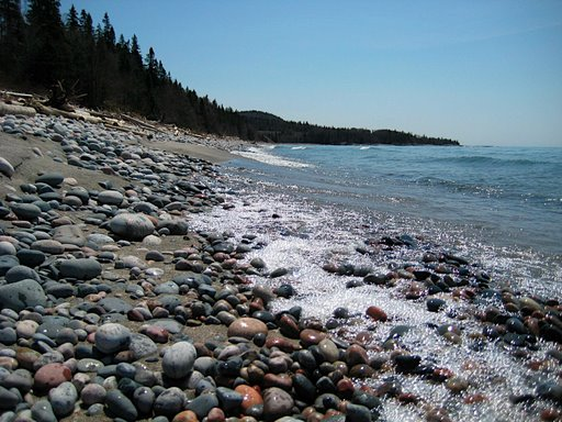 pebble beach in marathon, ontario