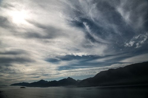 Dreamtime clouds- August 2012 - Johnstone Strait, BC, Canada